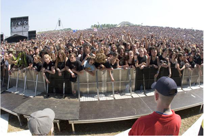 Download Festival crowd 2006