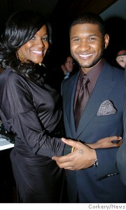 Usher and Tamika