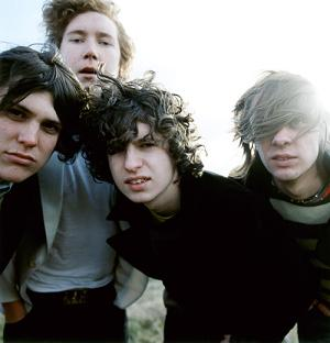 The 4 members of the band The Kooks