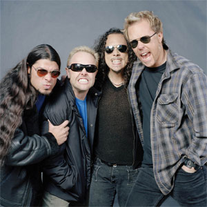 Metallica, trying to be badass