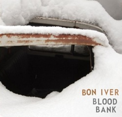 Bon Iver Blood Bank EP cover art