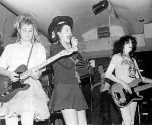 The Slits onstage