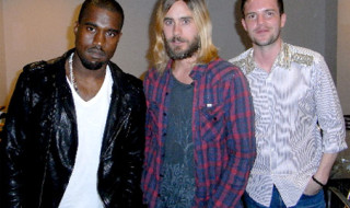Kanye West, Jared Leto, Brandon Flowers