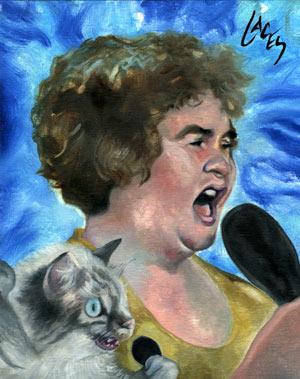 Susan Boyle Cats