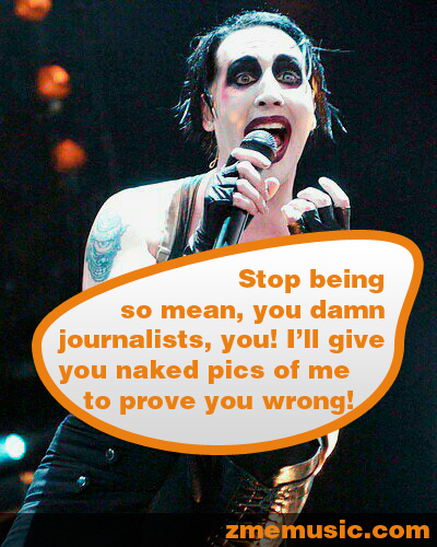 Marilyn Manson is a fucking cunt!