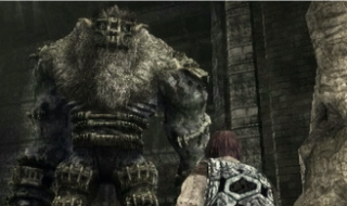 "While I was searching for this screenshot, I found out that this monster's name is ""Barba"", which I think we can all agree is a FANTASTIC name for a huge, terrifying mountain of stone and hair."