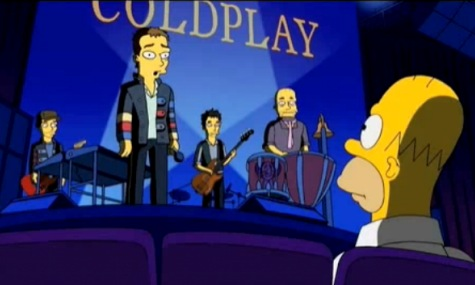 simpsons-coldplay