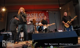 I've spent the last 45 seconds wondering if Robert Plant really does taste of Chicago. Actually, that's a lie. I haven't done that. That would be the mark of a madman.