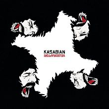 kasabian - velociraptor album art