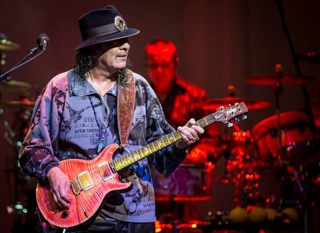 An intimate evening with carlos santana