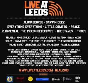 Live-at-Leeds-lineup