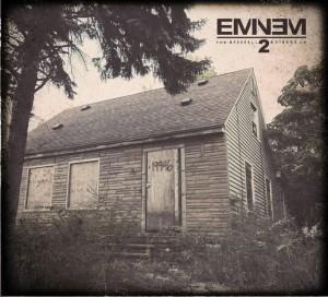Eminem's MMLP2 cover